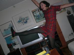Ingela  dansar