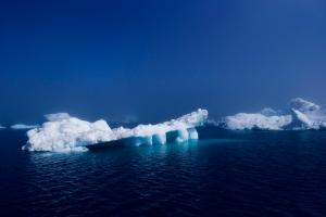 Så här såg det ut på Grönland. Helt underbart.