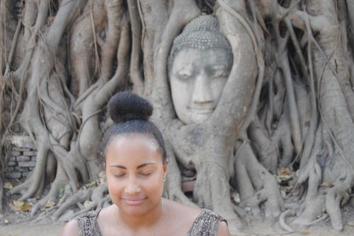 140128 -- Meditating in Ayutthaya
